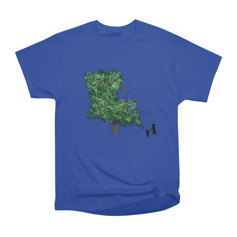 LA Tree Shirt Men's Heavyweight T-Shirt by Fees Tees