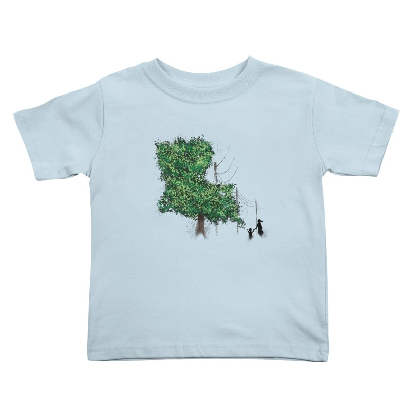 LA Tree Shirt Kids Toddler T-Shirt by Fees Tees