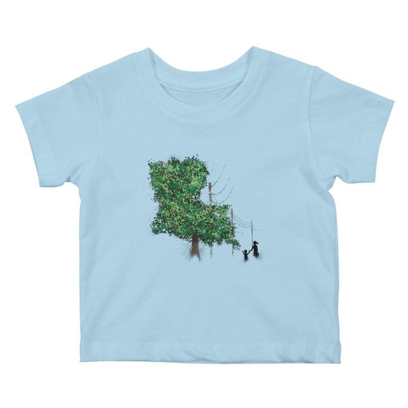 LA Tree Shirt Kids Baby T-Shirt by Fees Tees