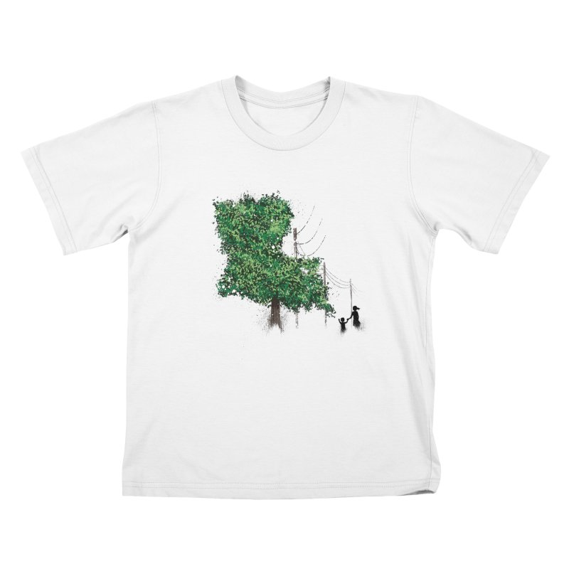 LA Tree Shirt Kids T-Shirt by Fees Tees