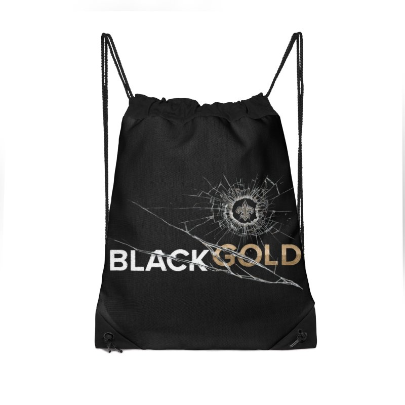 Black Gold Accessories Bag by Fees Tees