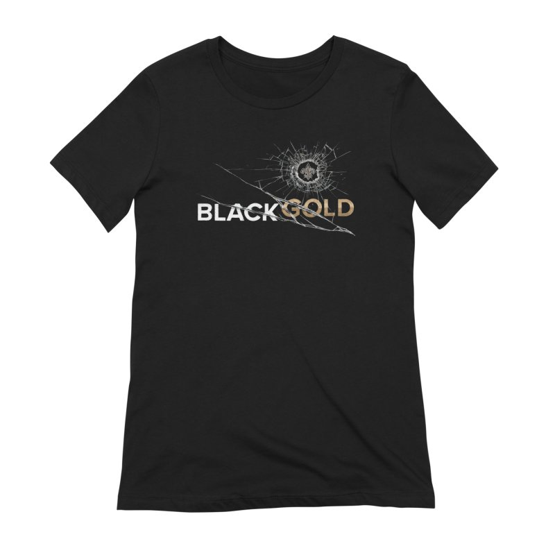 Black Gold Women's Extra Soft T-Shirt by Fees Tees