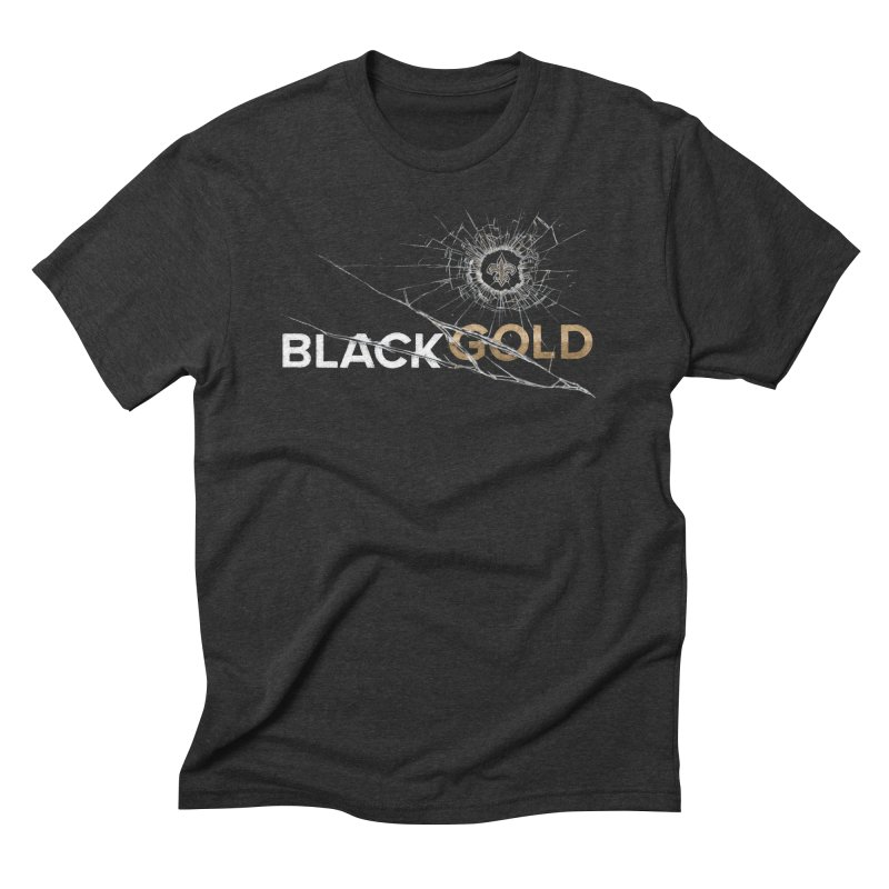 Black Gold Men's Triblend T-Shirt by Fees Tees