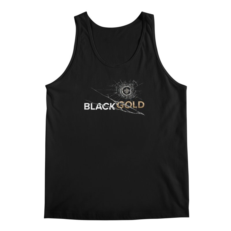 Black Gold Men's Regular Tank by Fees Tees