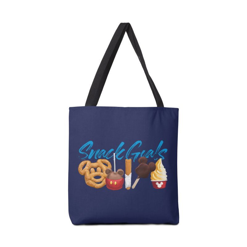 Snack Goals Accessories Tote Bag Bag by Fees Tees