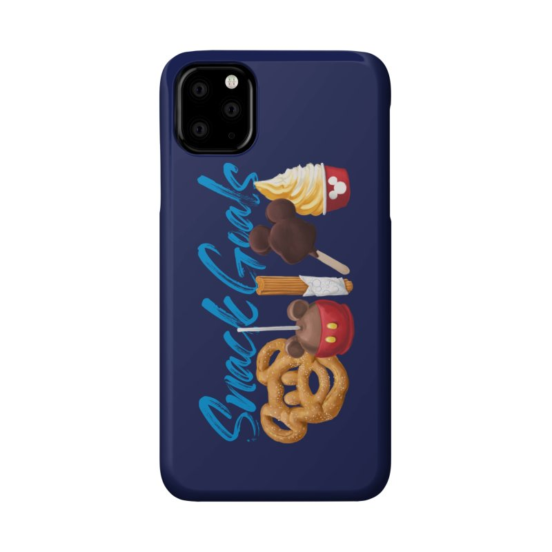 Snack Goals Accessories Phone Case by Fees Tees