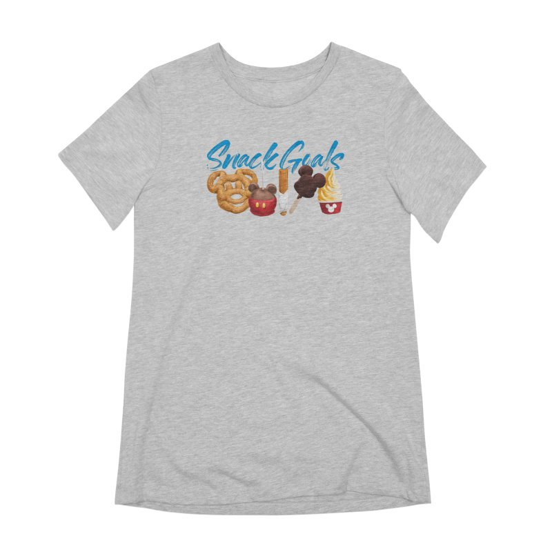 Snack Goals Women's Extra Soft T-Shirt by Fees Tees
