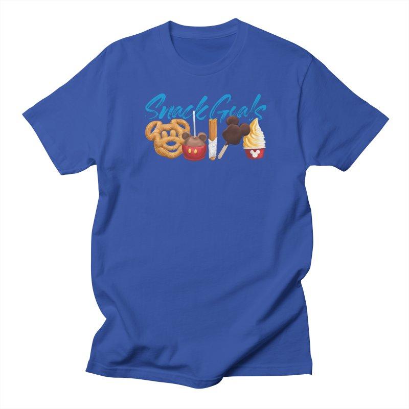 Snack Goals Men's Regular T-Shirt by Fees Tees