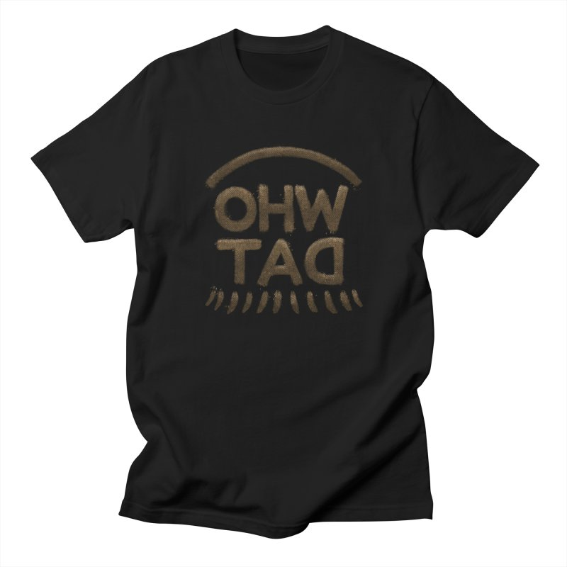 OHW TAD in Men's Regular T-Shirt Black by Fees Tees