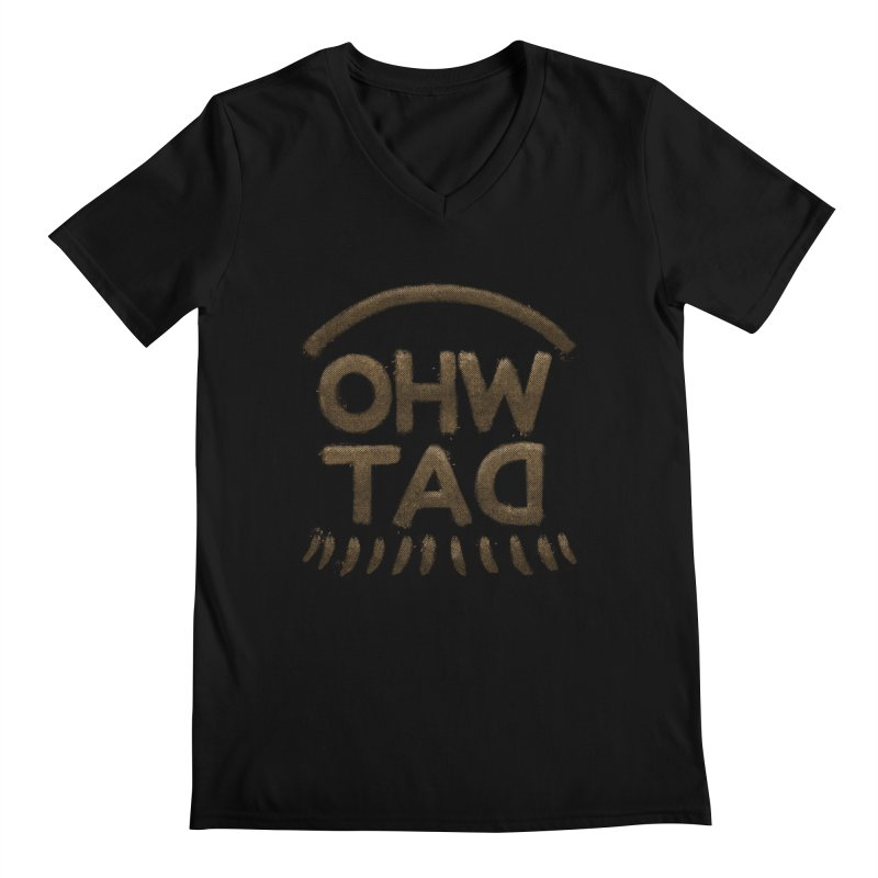 OHW TAD Men's Regular V-Neck by Fees Tees