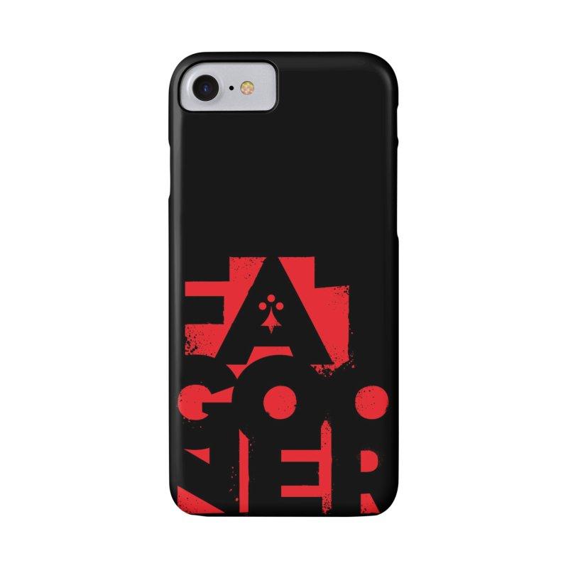 Fat Gooner (Gooner Gras) in iPhone 8 Phone Case Slim by Fees Tees