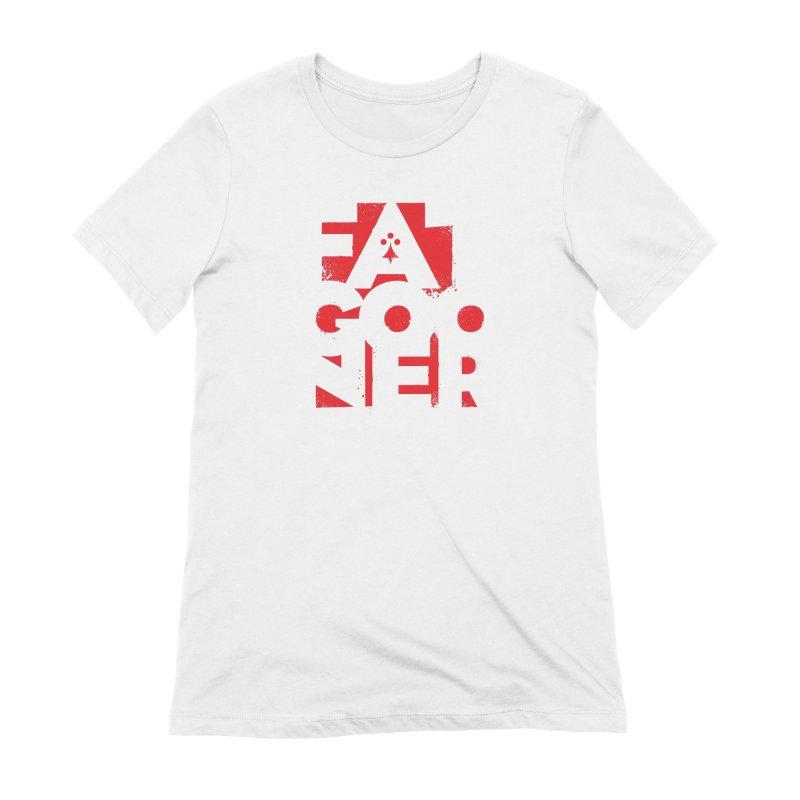 Fat Gooner (Gooner Gras) Women's Extra Soft T-Shirt by Fees Tees