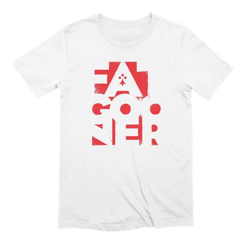 Fat Gooner (Gooner Gras) in Men's Extra Soft T-Shirt White by Fees Tees