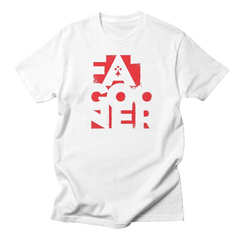 Fat Gooner (Gooner Gras) Men's Regular T-Shirt by Fees Tees