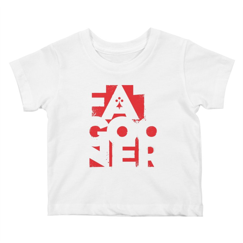 Fat Gooner (Gooner Gras) Kids Baby T-Shirt by Fees Tees