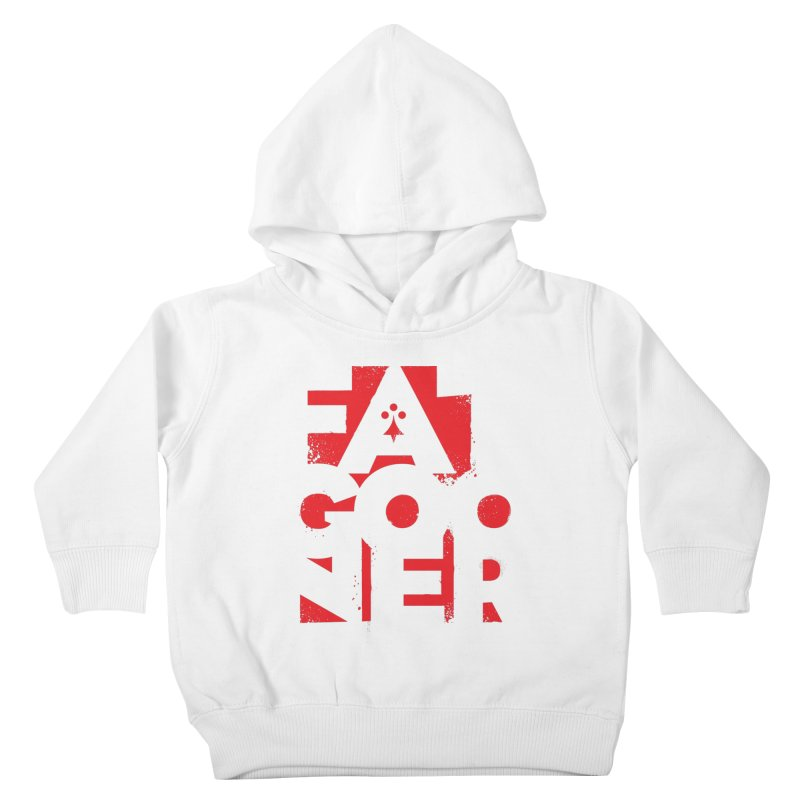 Fat Gooner (Gooner Gras) Kids Toddler Pullover Hoody by Fees Tees