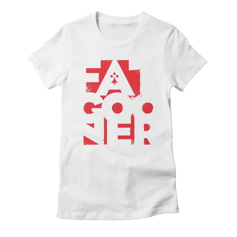 Fat Gooner (Gooner Gras) Women's Fitted T-Shirt by Fees Tees