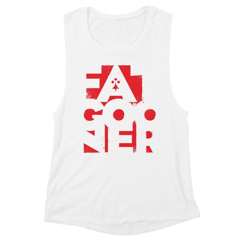 Fat Gooner (Gooner Gras) Women's Muscle Tank by Fees Tees