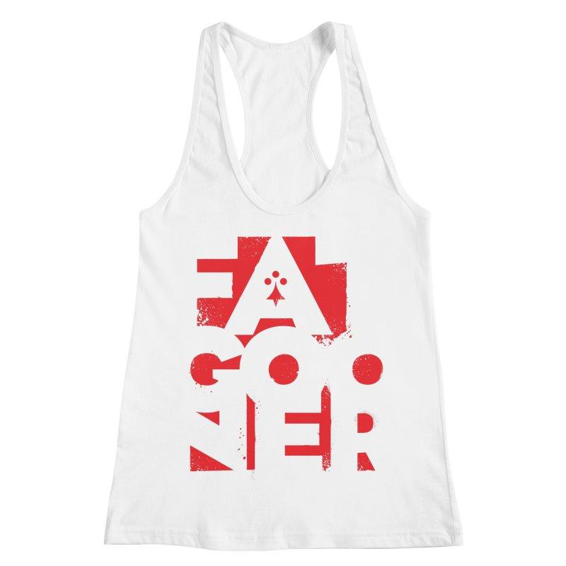 Fat Gooner (Gooner Gras) Women's Racerback Tank by Fees Tees