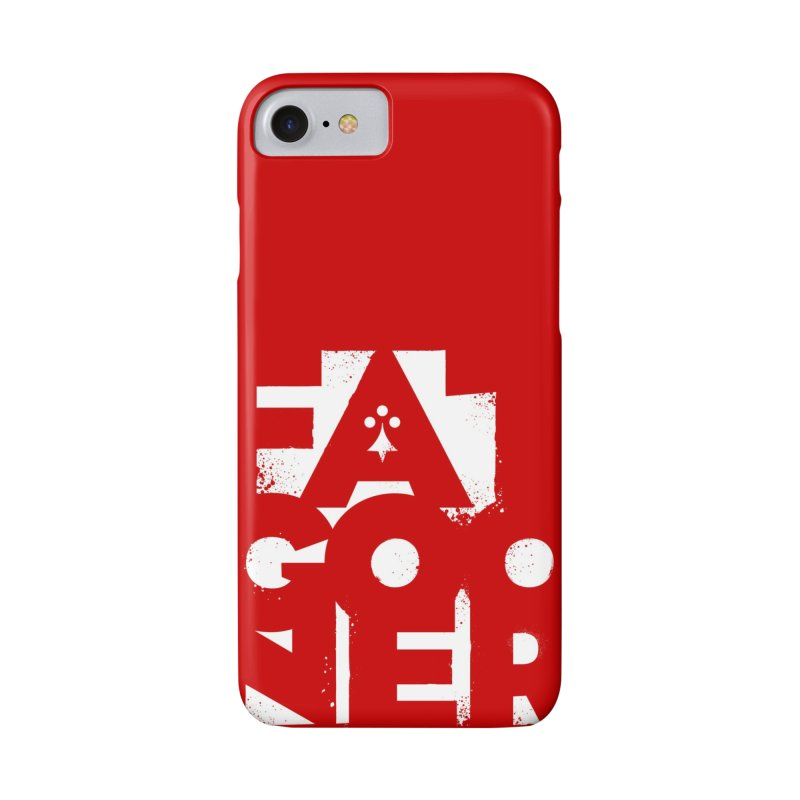 Fat Gooner (Gooner Gras) - The RED One in iPhone 8 Phone Case Slim by Fees Tees