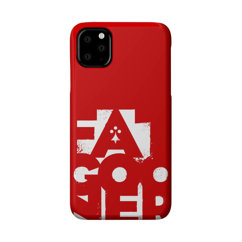Fat Gooner (Gooner Gras) - The RED One Accessories Phone Case by Fees Tees