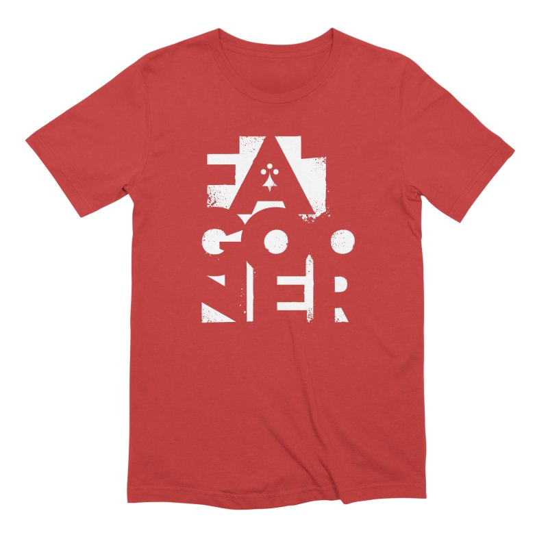 Fat Gooner (Gooner Gras) - The RED One Men's Extra Soft T-Shirt by Fees Tees