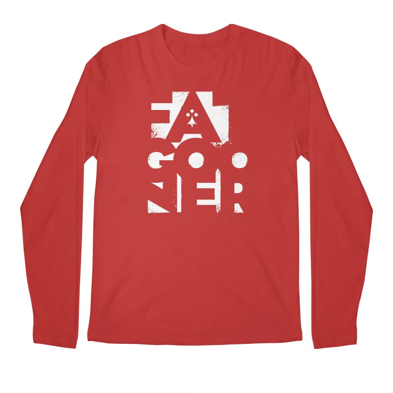 Fat Gooner (Gooner Gras) - The RED One Men's Regular Longsleeve T-Shirt by Fees Tees