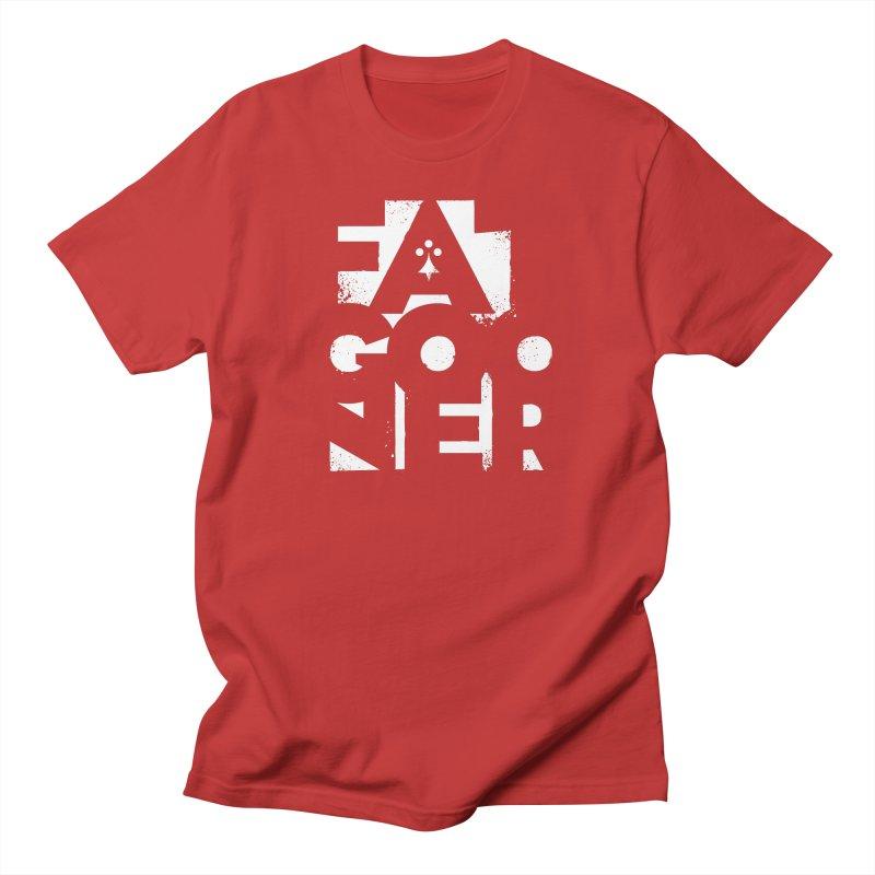 Fat Gooner (Gooner Gras) - The RED One Men's Regular T-Shirt by Fees Tees