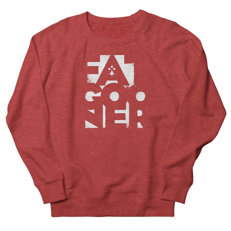 Fat Gooner (Gooner Gras) - The RED One Men's French Terry Sweatshirt by Fees Tees
