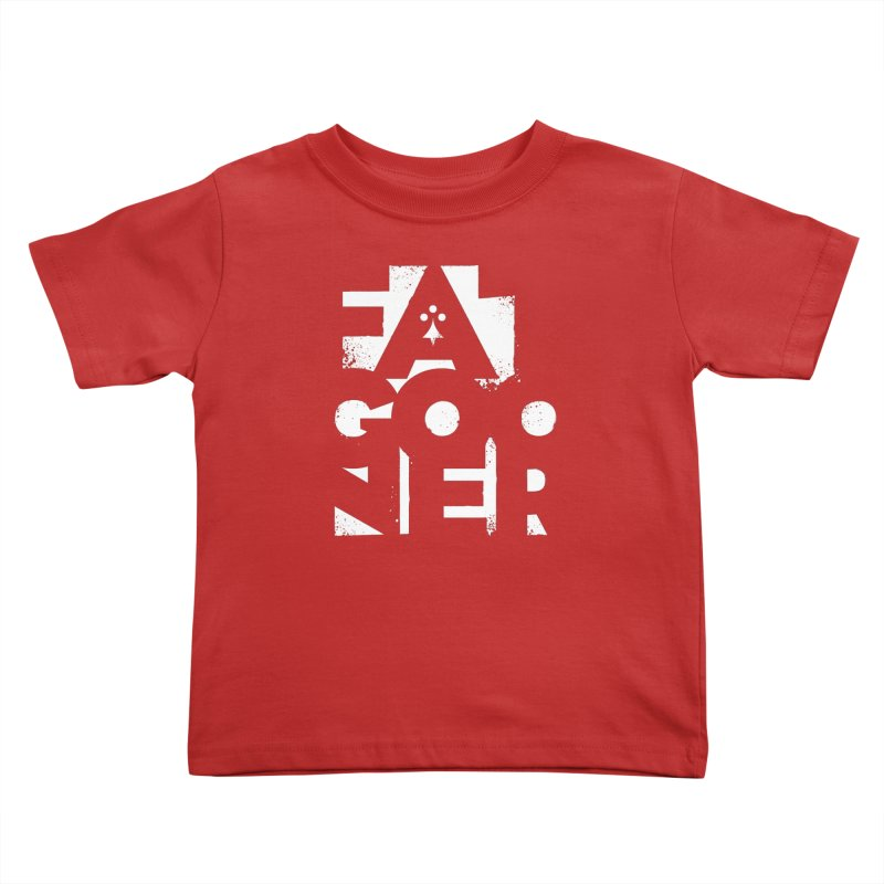 Fat Gooner (Gooner Gras) - The RED One Kids Toddler T-Shirt by Fees Tees