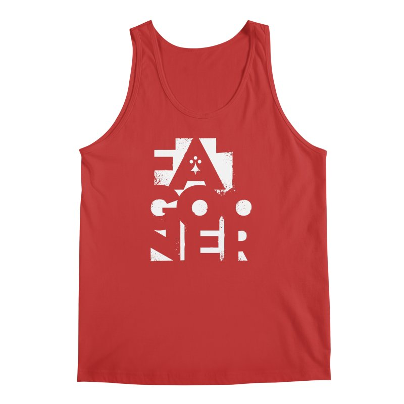 Fat Gooner (Gooner Gras) - The RED One Men's Regular Tank by Fees Tees