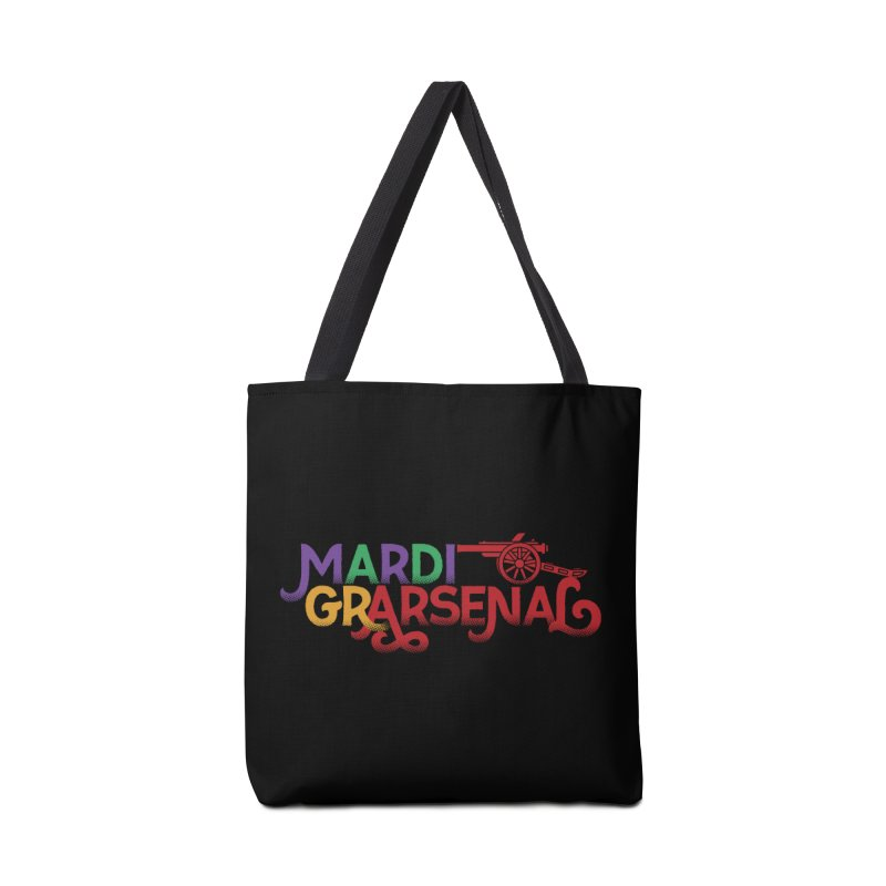 Mardi Gr-Arsenal Accessories Tote Bag Bag by Fees Tees