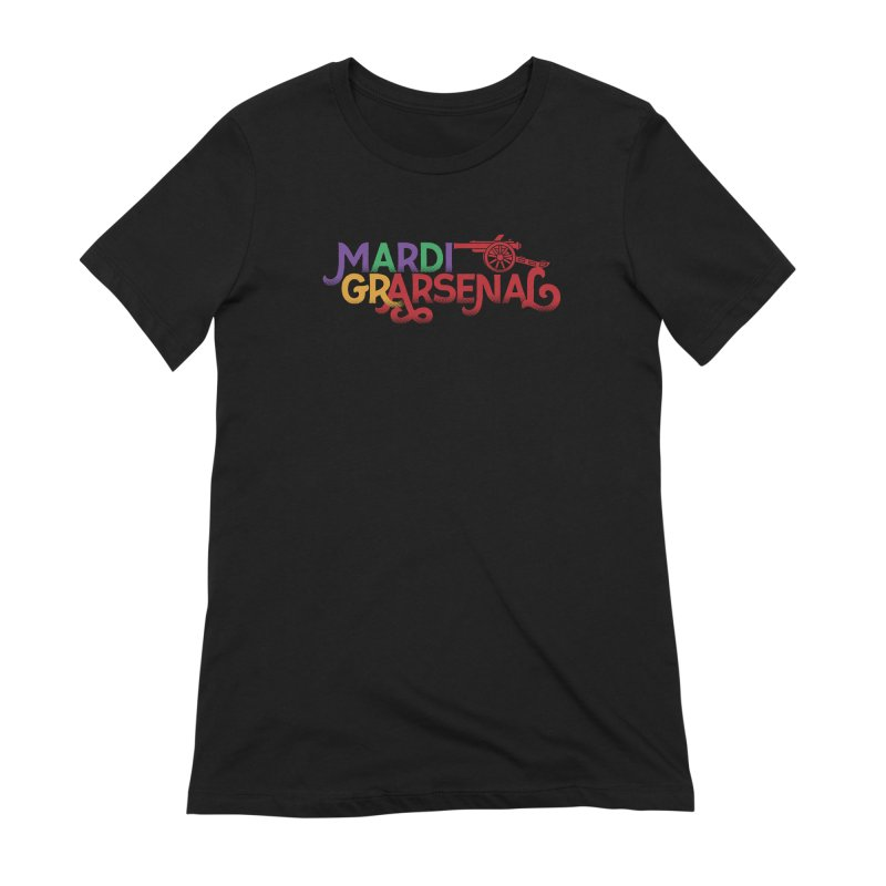 Mardi Gr-Arsenal Women's Extra Soft T-Shirt by Fees Tees