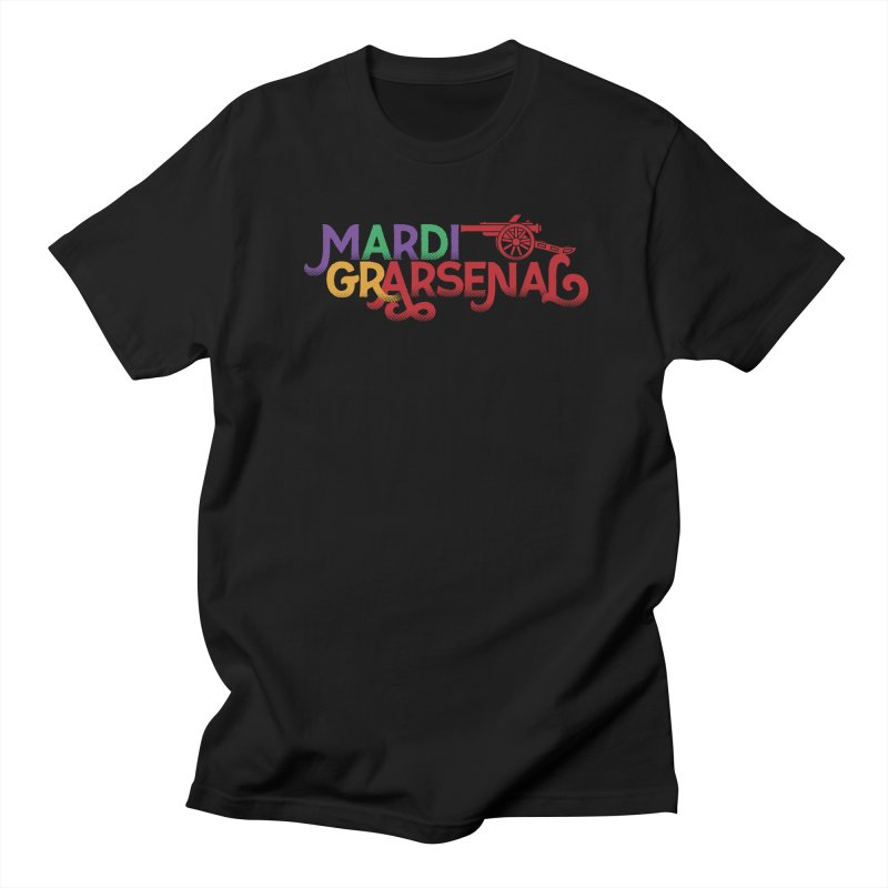Mardi Gr-Arsenal Men's Regular T-Shirt by Fees Tees