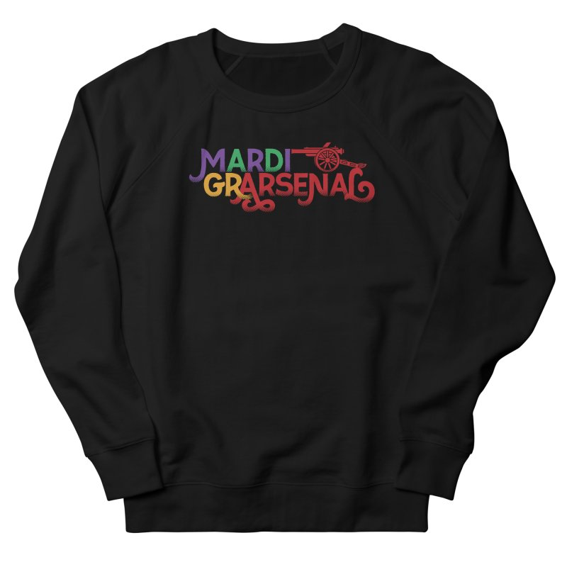 Mardi Gr-Arsenal Men's French Terry Sweatshirt by Fees Tees