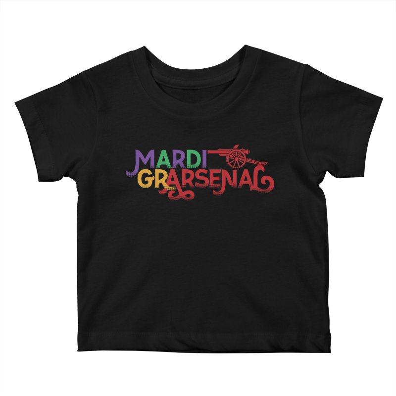 Mardi Gr-Arsenal Kids Baby T-Shirt by Fees Tees