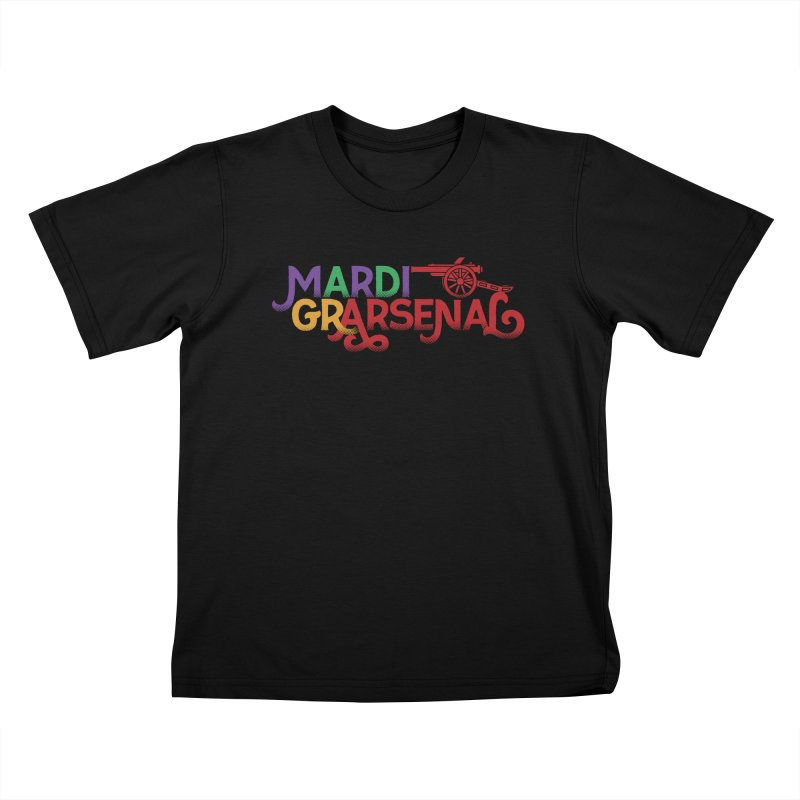 Mardi Gr-Arsenal Kids T-Shirt by Fees Tees