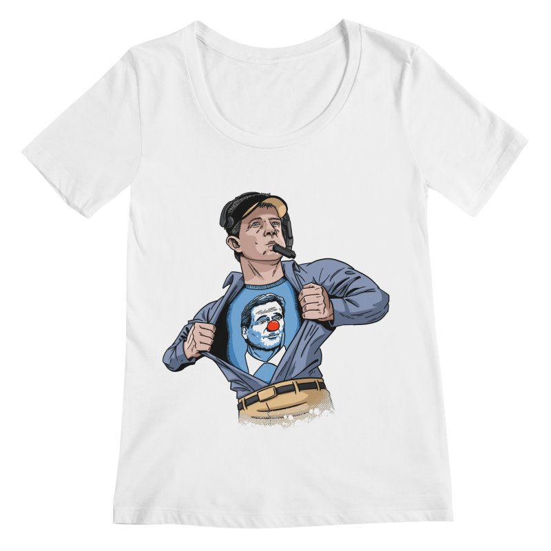 Supercoach Payton Women's Regular Scoop Neck by Fees Tees