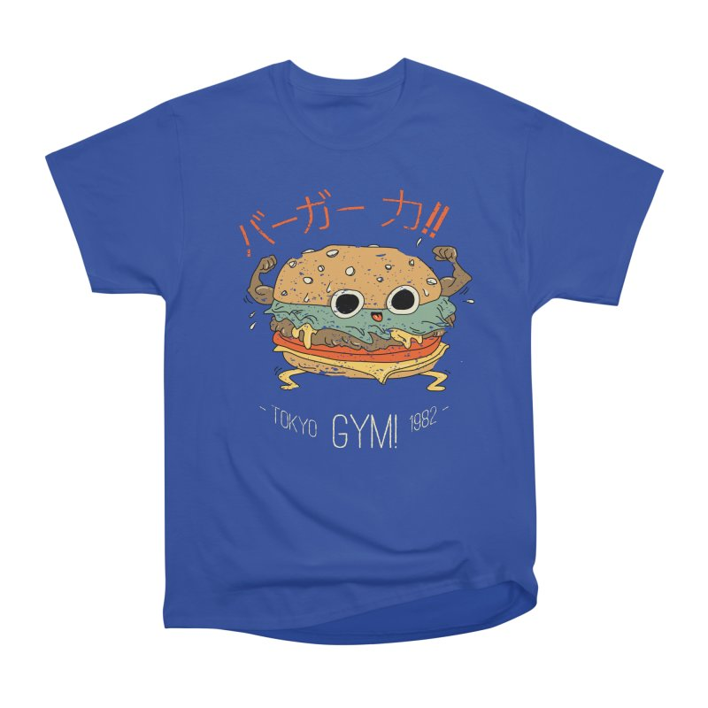 Burger Strength!! Women's T-Shirt by Feldir's Weirdness