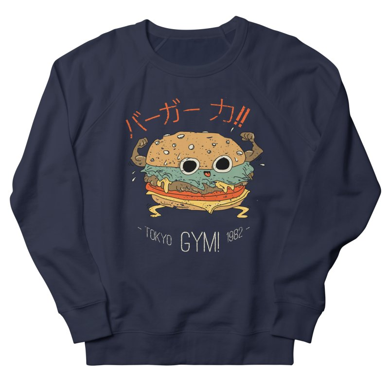 Burger Strength!! Women's Sweatshirt by Feldir's Weirdness