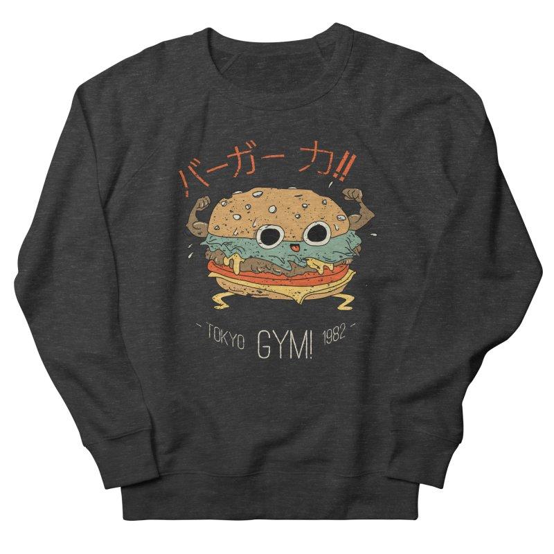 Burger Strength!! Men's Sweatshirt by Feldir's Weirdness