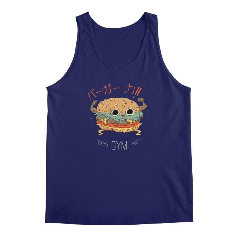 Burger Strength!! Men's Regular Tank by Feldir's Weirdness