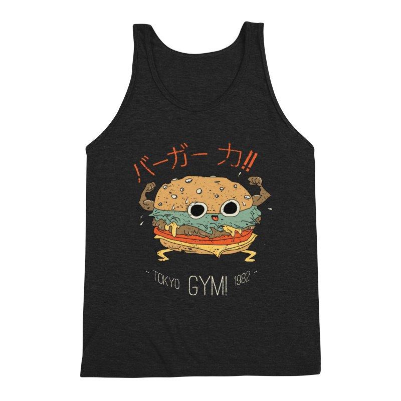 Burger Strength!! Men's Tank by Feldir's Weirdness