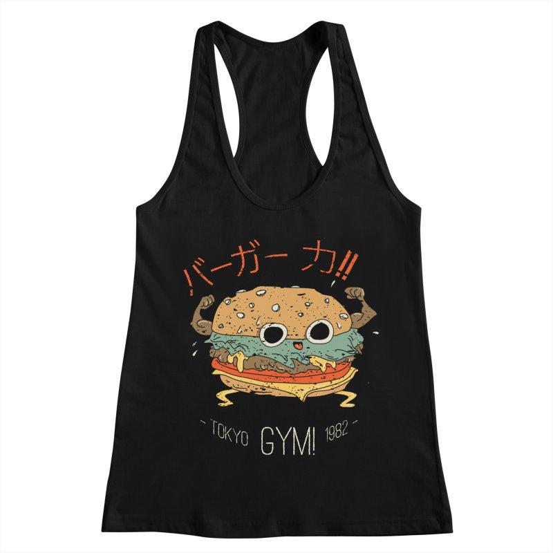 Burger Strength!! Women's Tank by Feldir's Weirdness