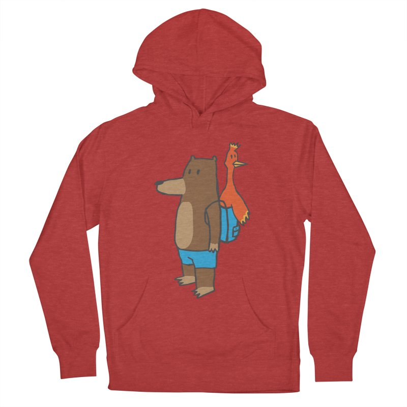 b&k Men's French Terry Pullover Hoody by Feldir's Weirdness
