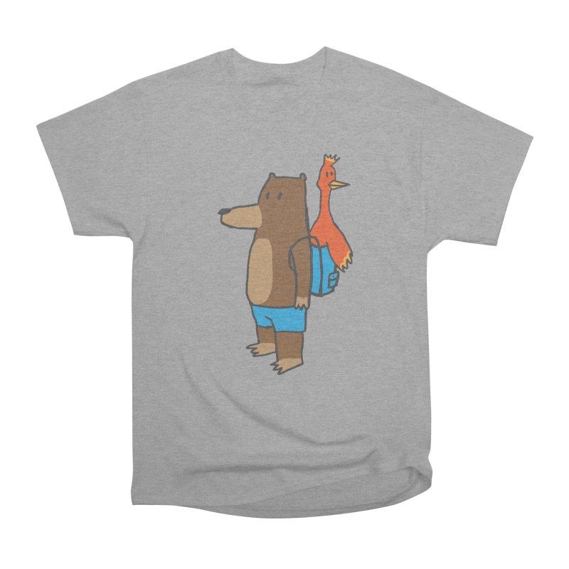 b&k Men's Heavyweight T-Shirt by Feldir's Weirdness