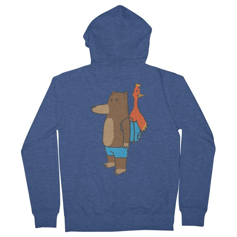 b&k Men's Zip-Up Hoody by Feldir's Weirdness