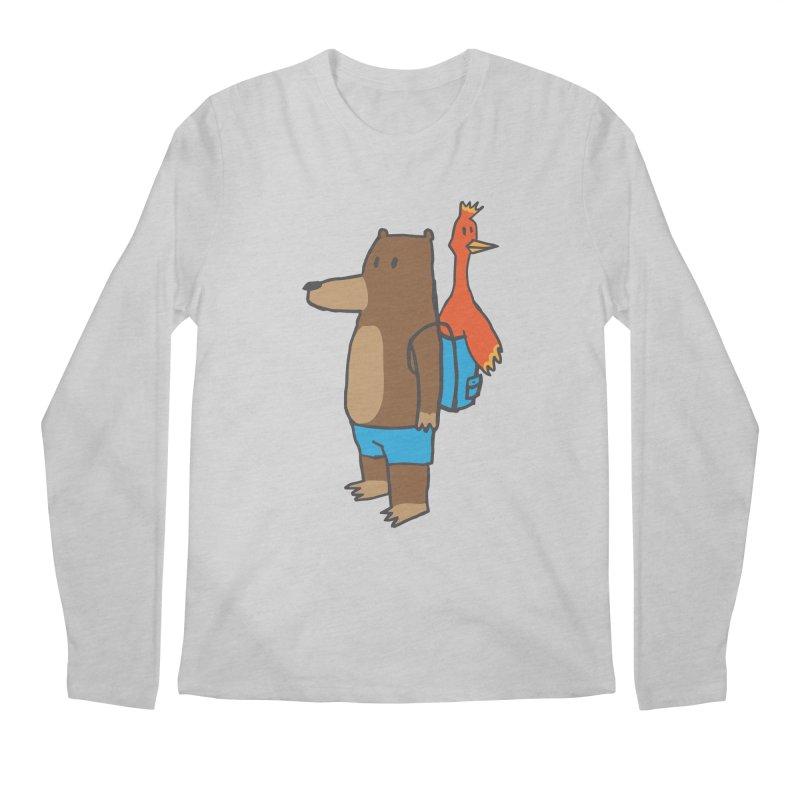 b&k Men's Regular Longsleeve T-Shirt by Feldir's Weirdness