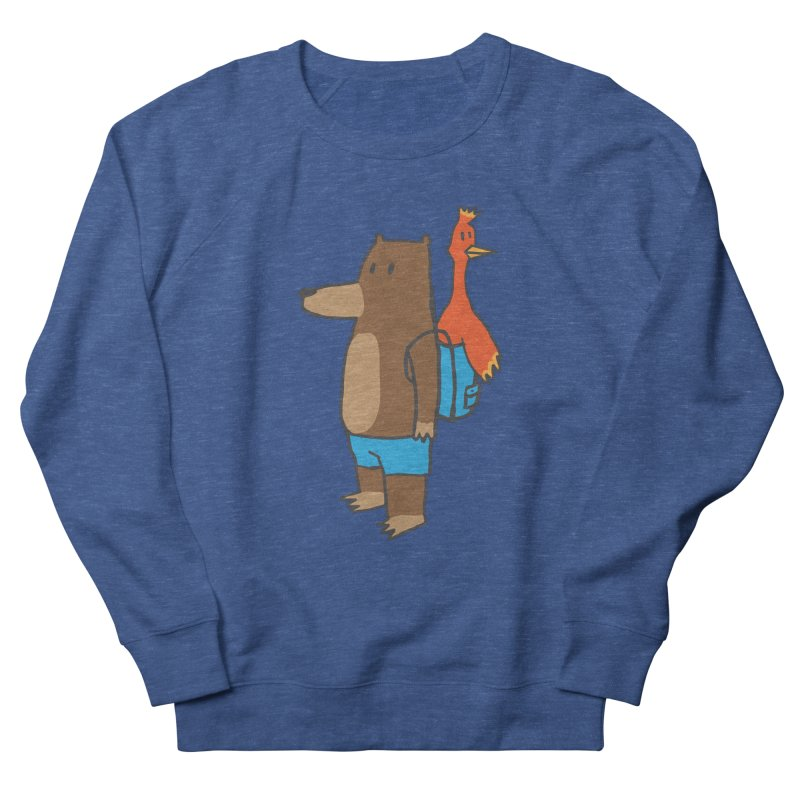 b&k Men's French Terry Sweatshirt by Feldir's Weirdness