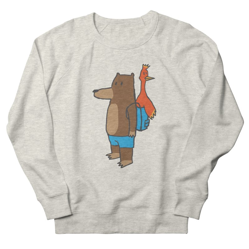 b&k Men's French Terry Sweatshirt by Feldir's Weirdness